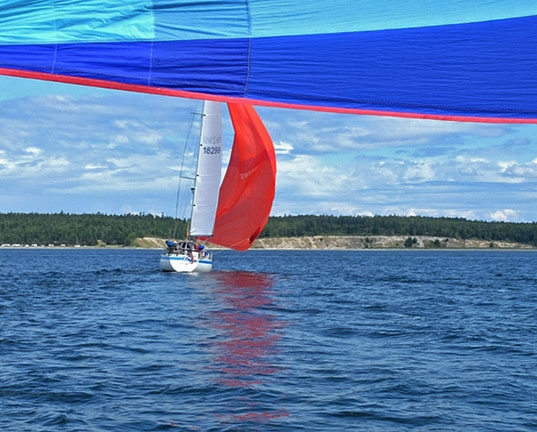 Chasing spinnakers